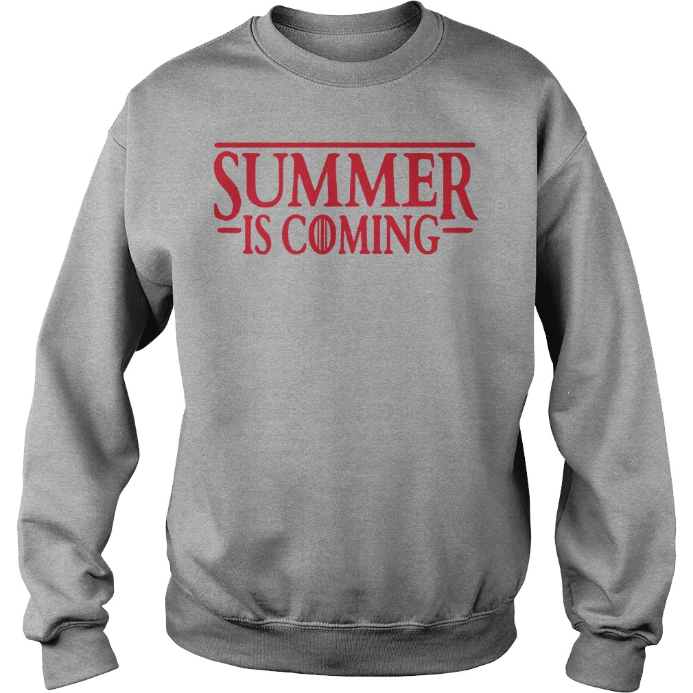 Stranger thing summer is coming GOT Sweater