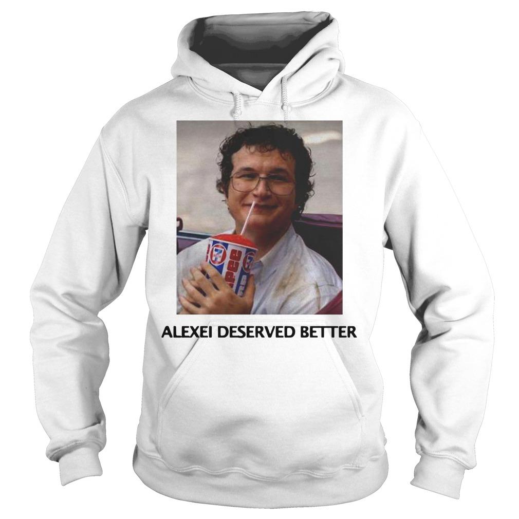Stranger things season 3 Alexei deserved better Hoodie
