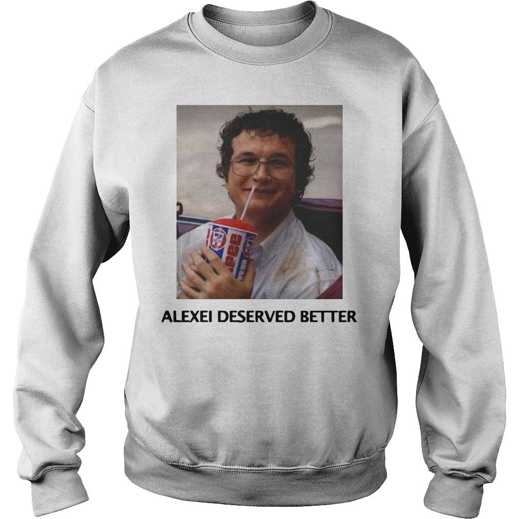 Stranger things season 3 Alexei deserved better Sweater