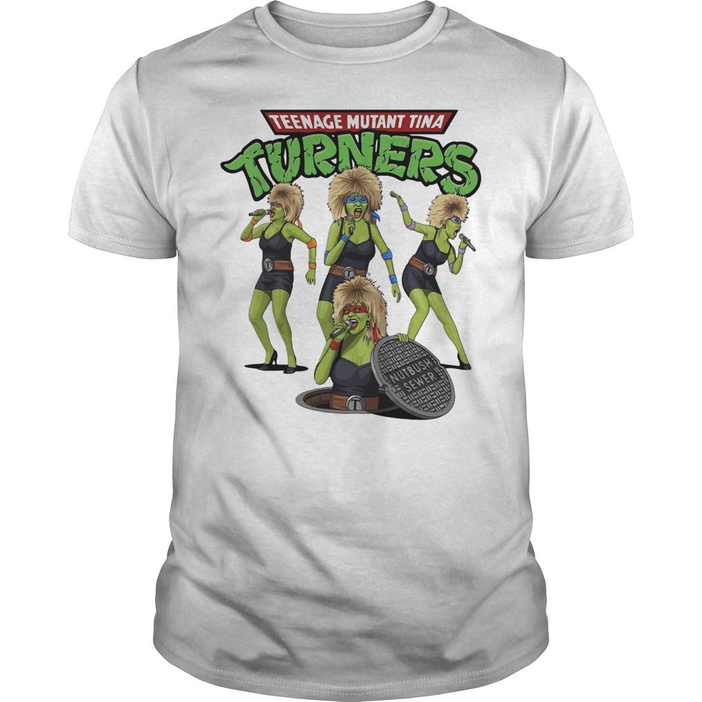 Teenage Mutant Ninja Turners Tina Turner Guys t-shirt