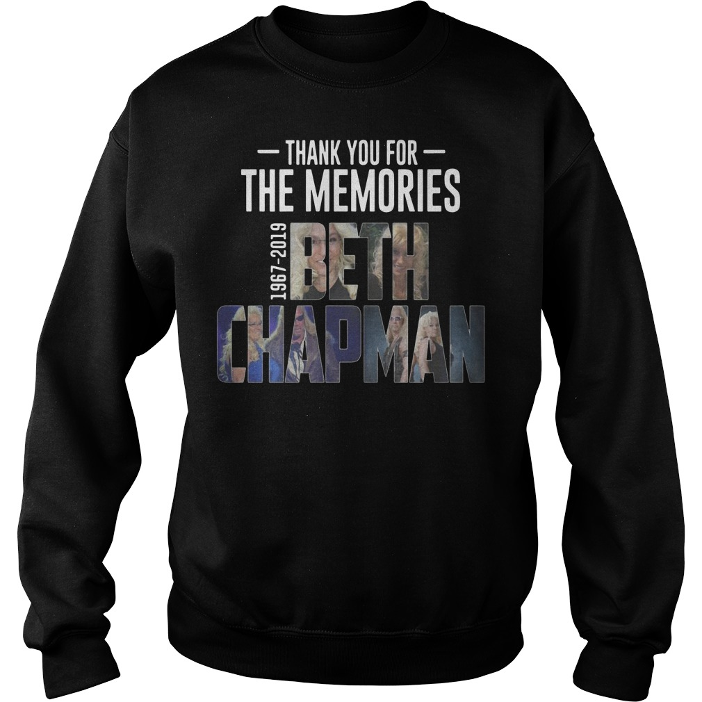 Thank you for the memories 1967 2019 Beth Chapman Sweater