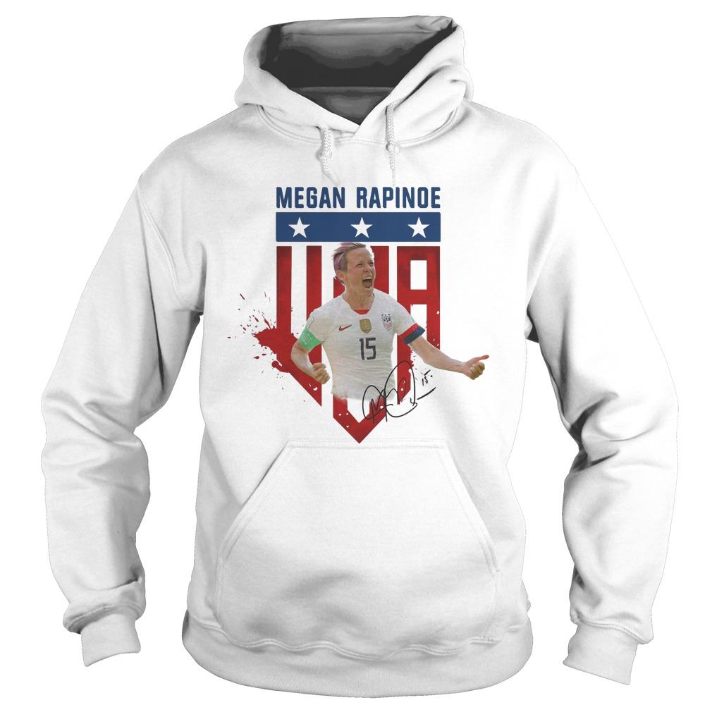 USA soccer Megan Rapinoe Signature Hoodie