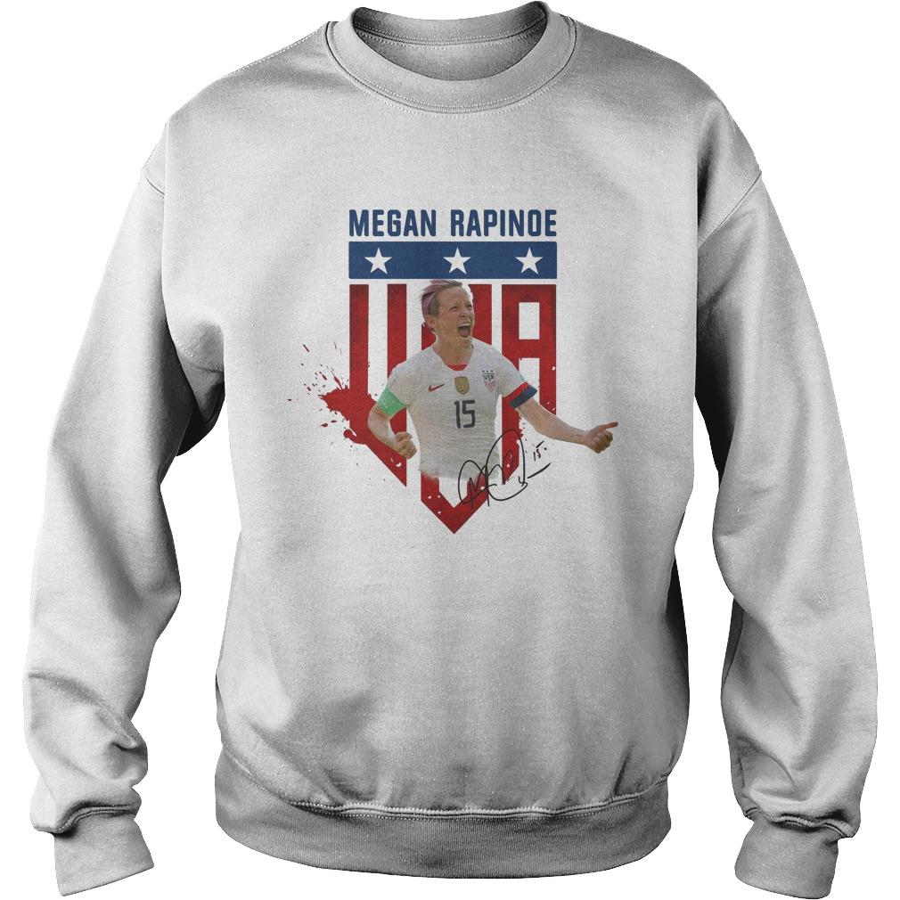 USA soccer Megan Rapinoe Signature Sweater