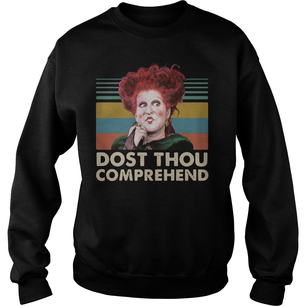 Winifred Sanderson Dost Thou Comprehend vintage Sweater