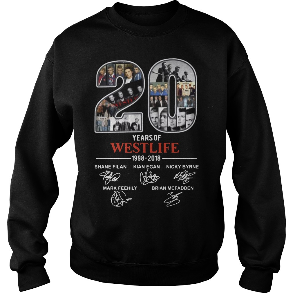 20 years of Westlife 1998 Sweater