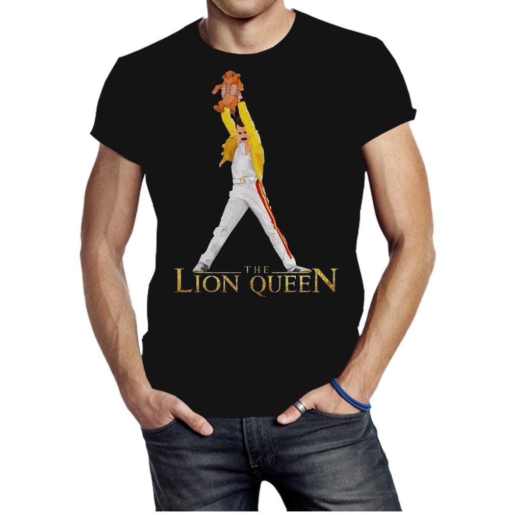 Freddie Mercury the lion queen shirt