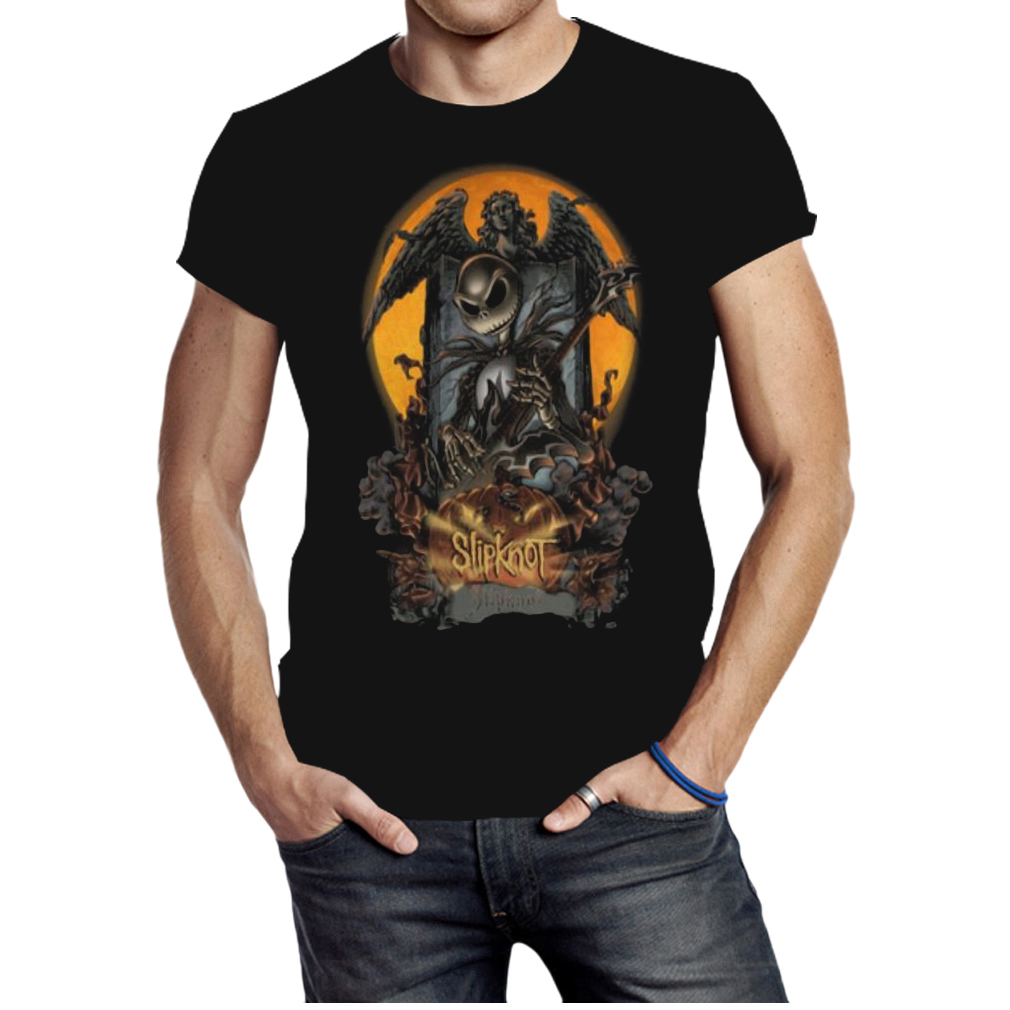 Halloween Jack Skellington slipknot shirt