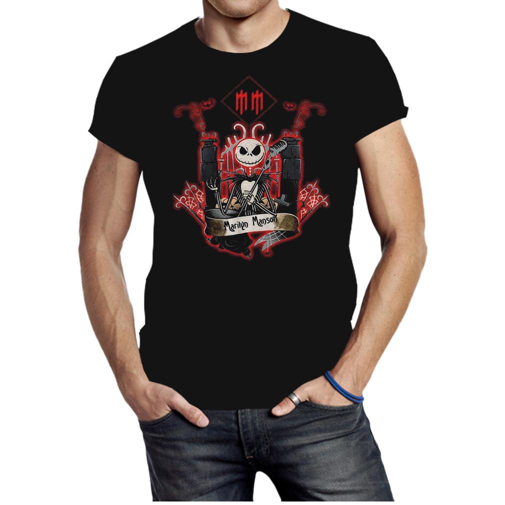 Jack Skellington Marilyn Manson shirt