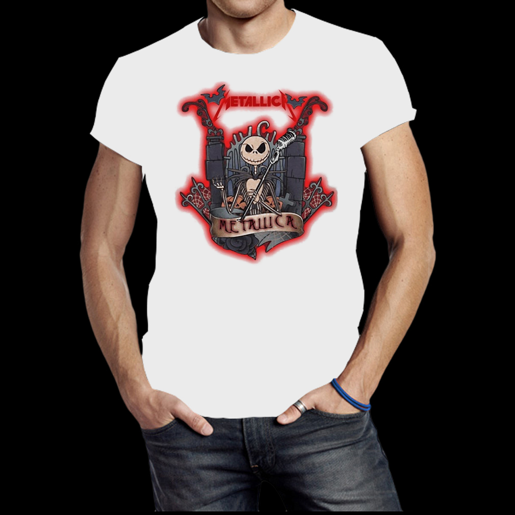 Jack Skellington Metallica shirt