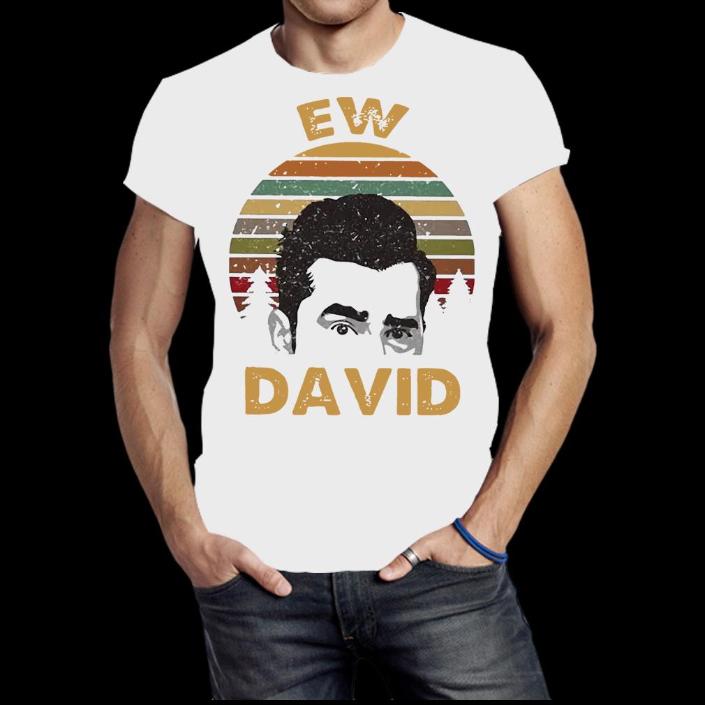 Sunset Ew David shirt