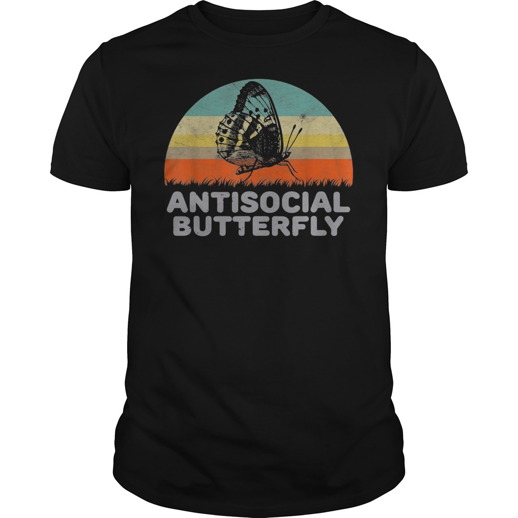 Antisocial Butterfly Guys t-shirt