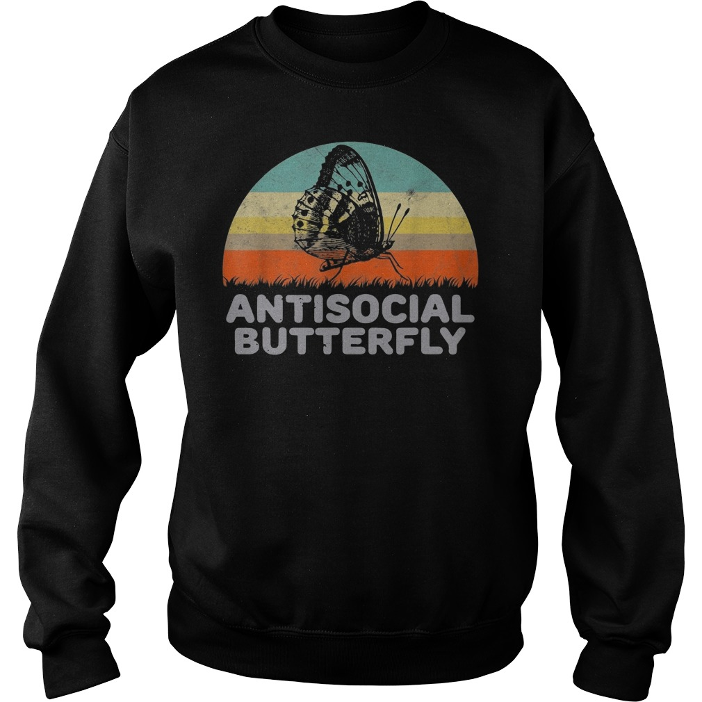 Antisocial Butterfly Sweater