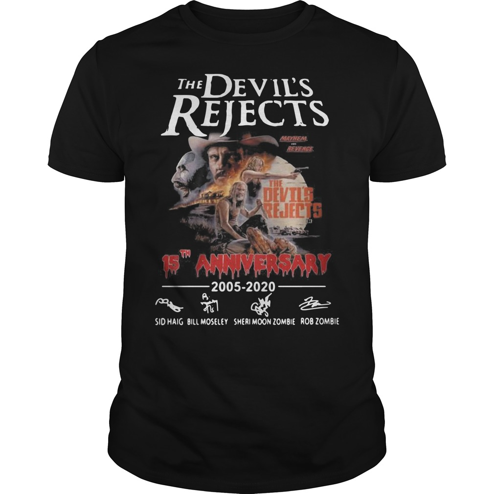 The devil's rejects 15th anniversary Guys t-shirt