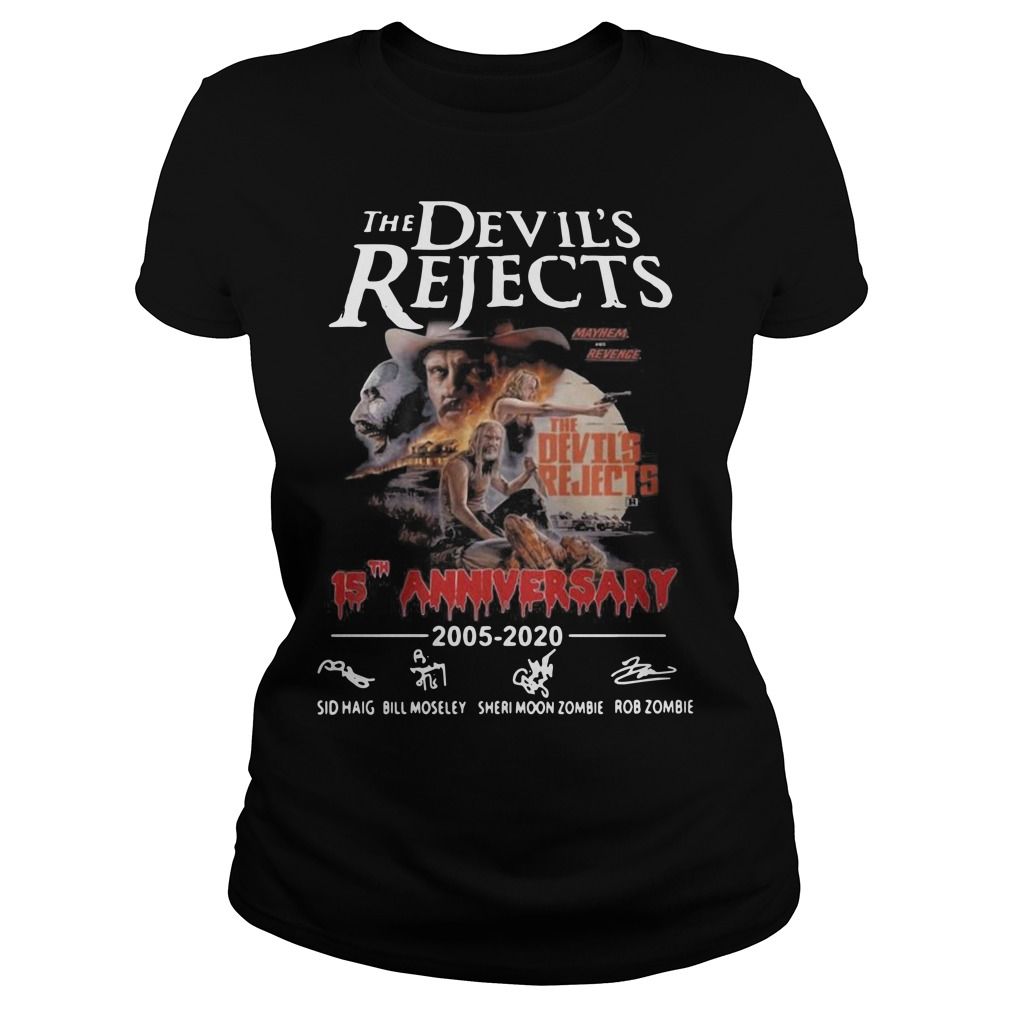 The devil's rejects 15th anniversary Ladies t-shirt