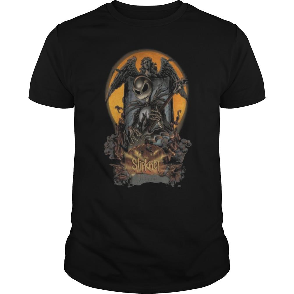 Halloween Jack Skellington slipknot Guys t-shirt