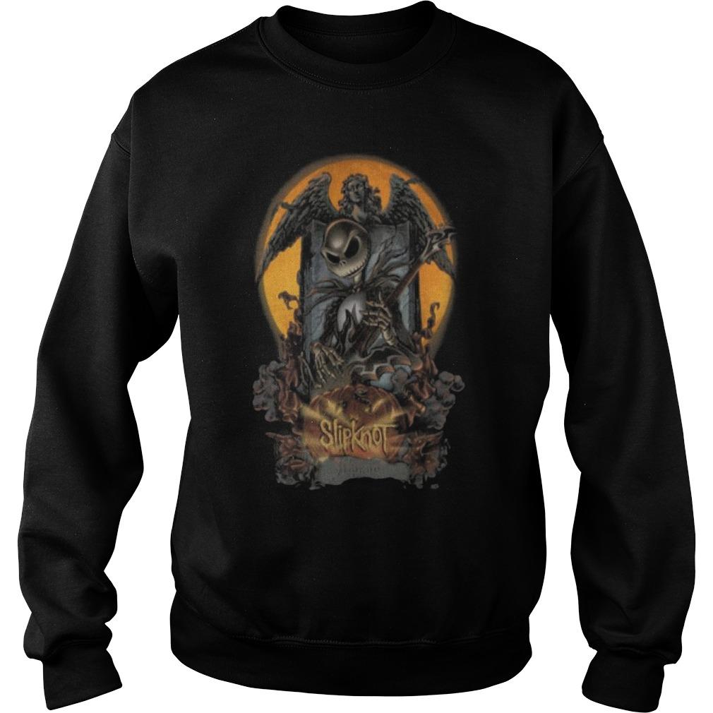Halloween Jack Skellington slipknot Sweater