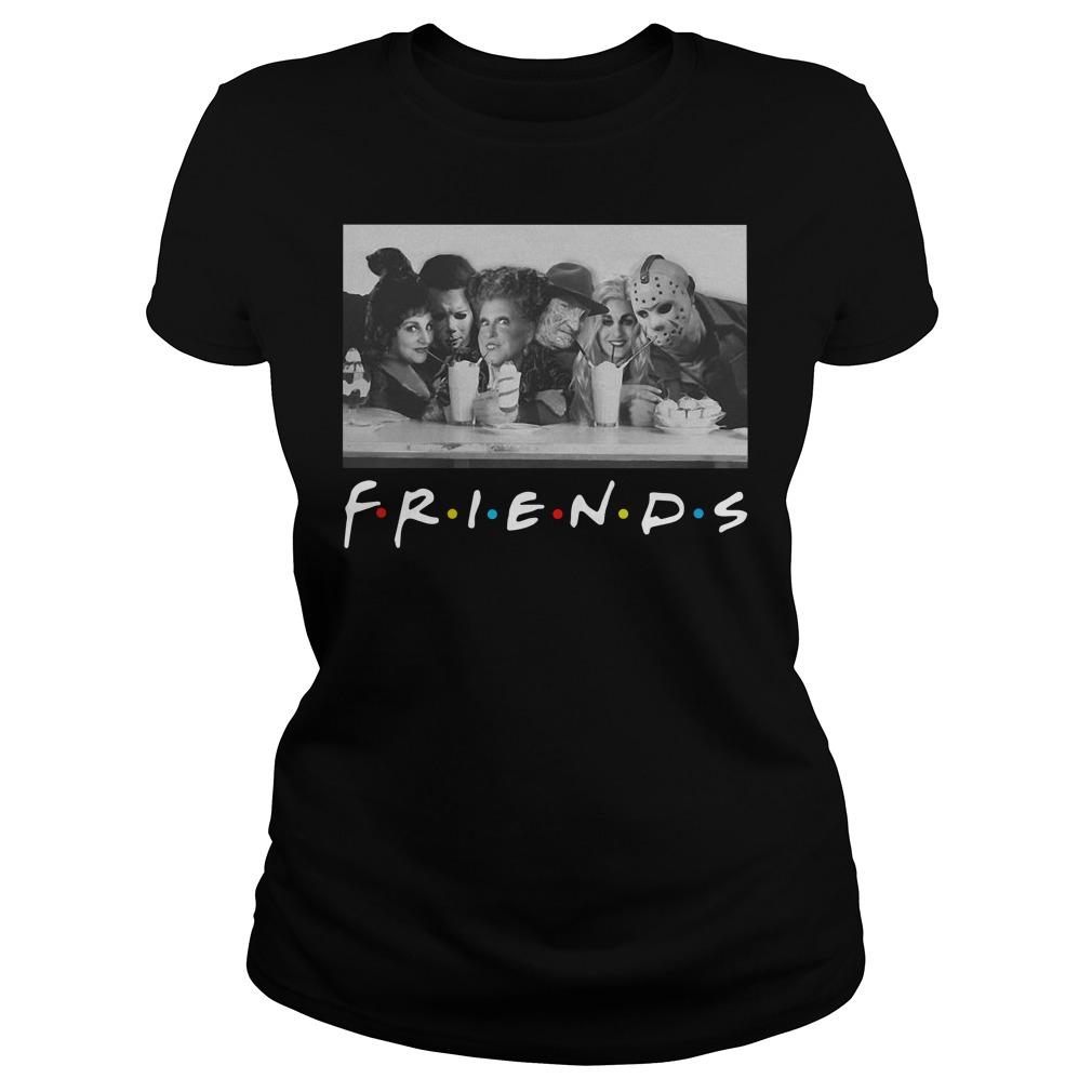 Hocus Pocus horror movie friends TV show Halloween Ladies t-shirt
