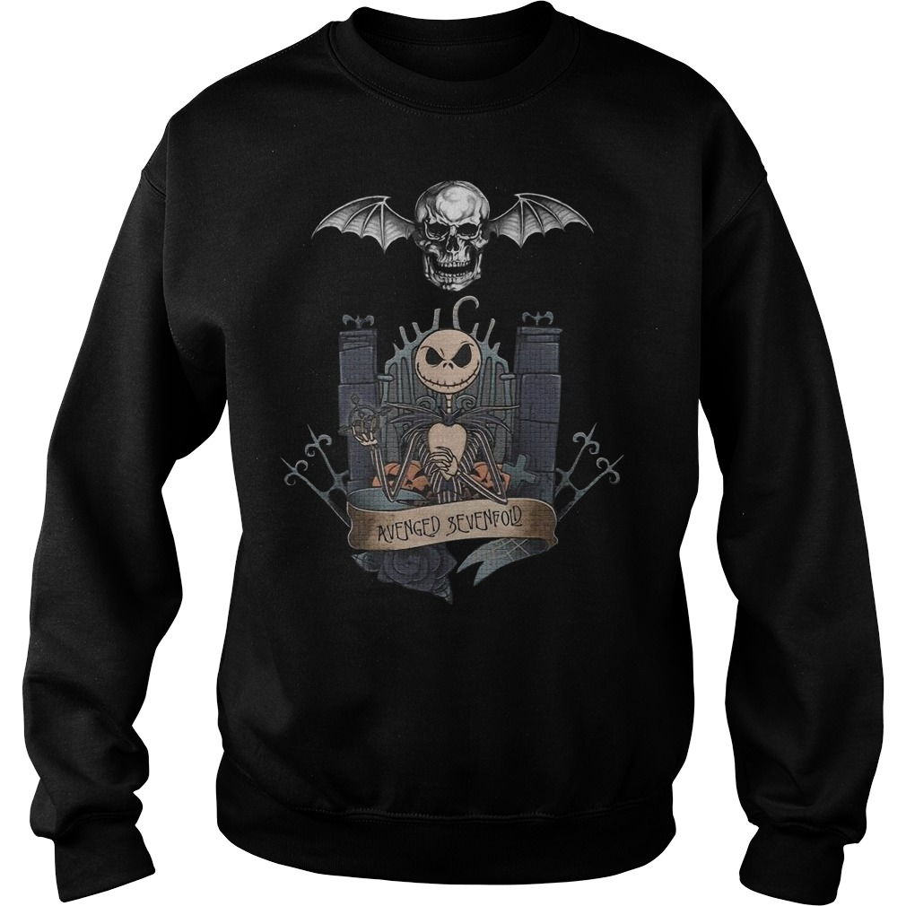 Jack Skellington avenged sevenfold Sweater