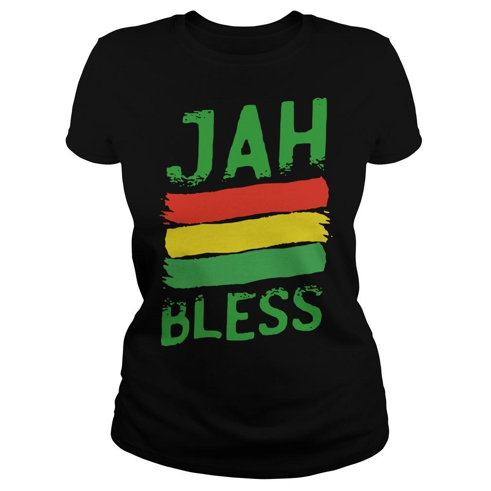 Jah Bless Ladies t-shirt