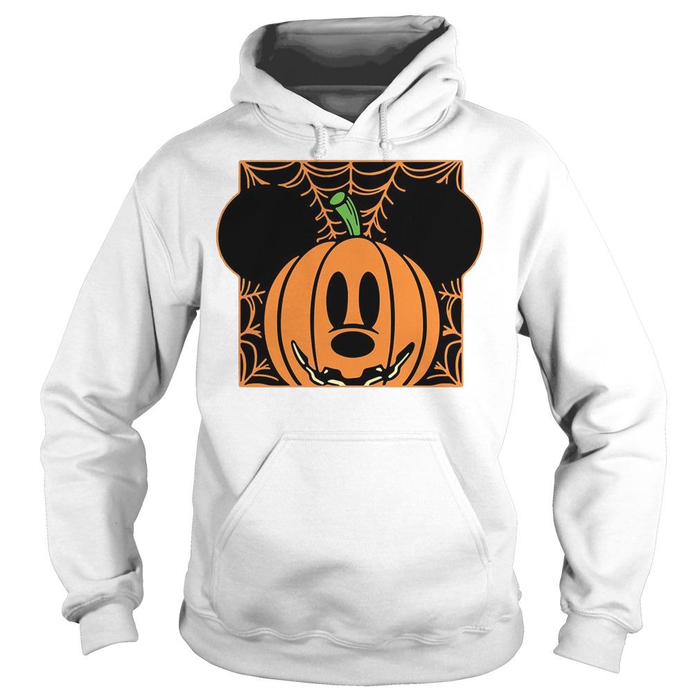 Mickey mouse pumpkin head Hoodie