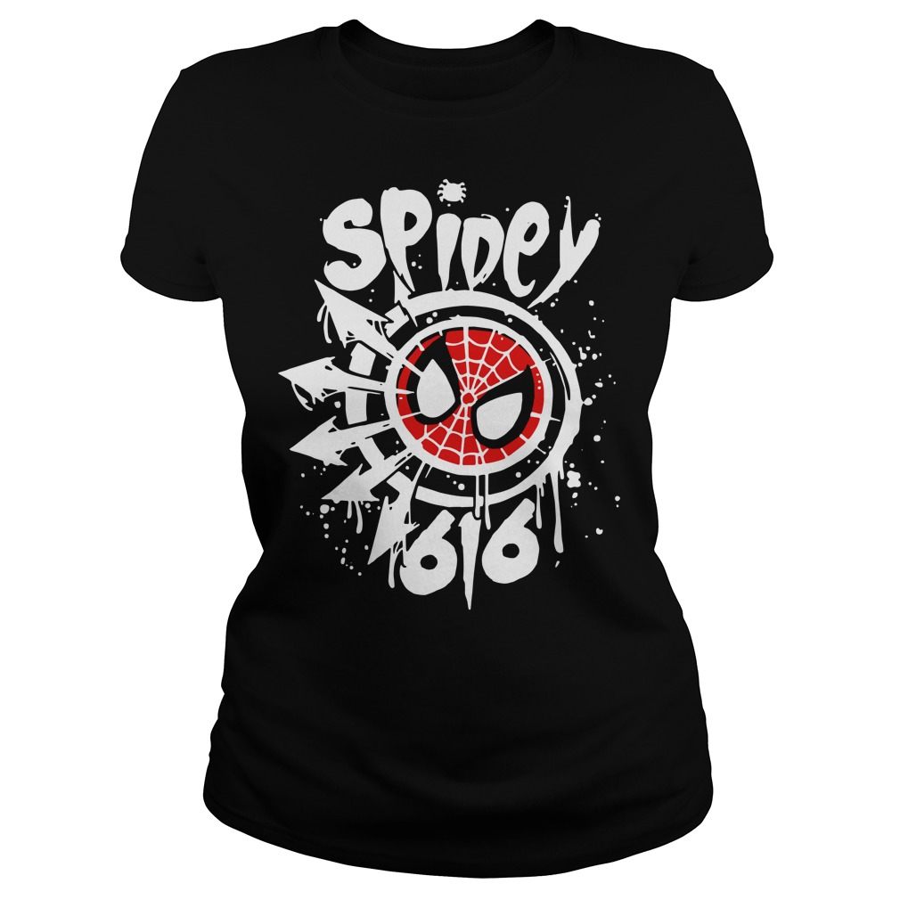 Spidey 616 Ladies t-shirt