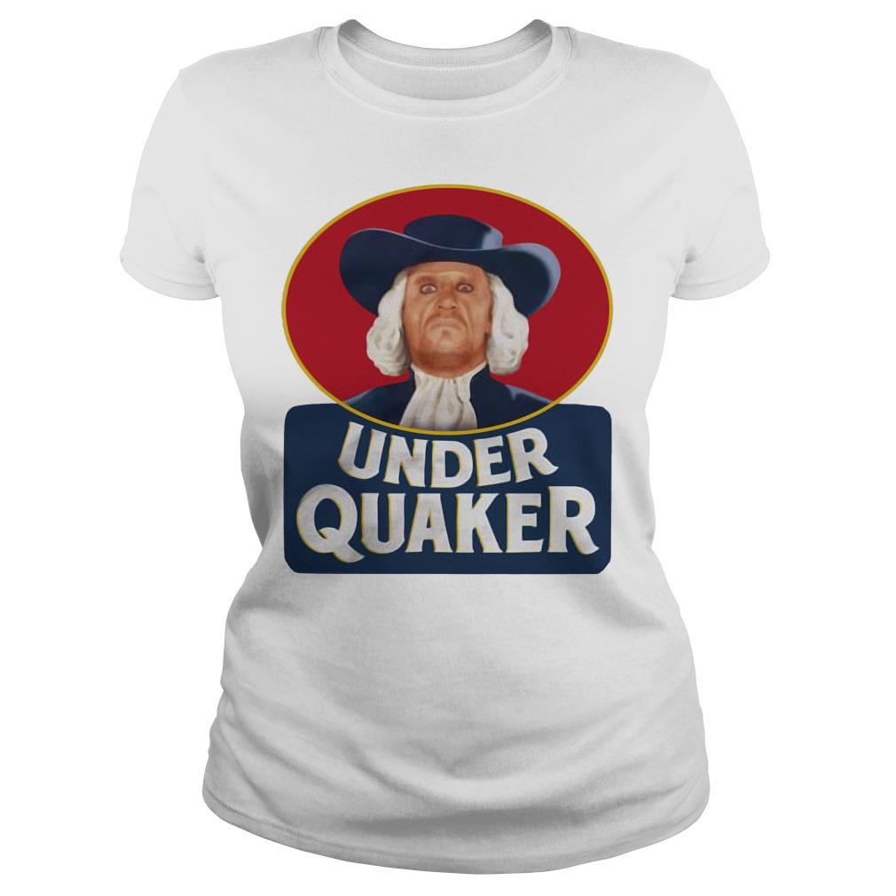 Under Quaker Ladies t-shirt