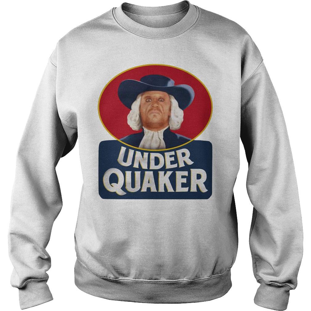 Under Quaker Sweater