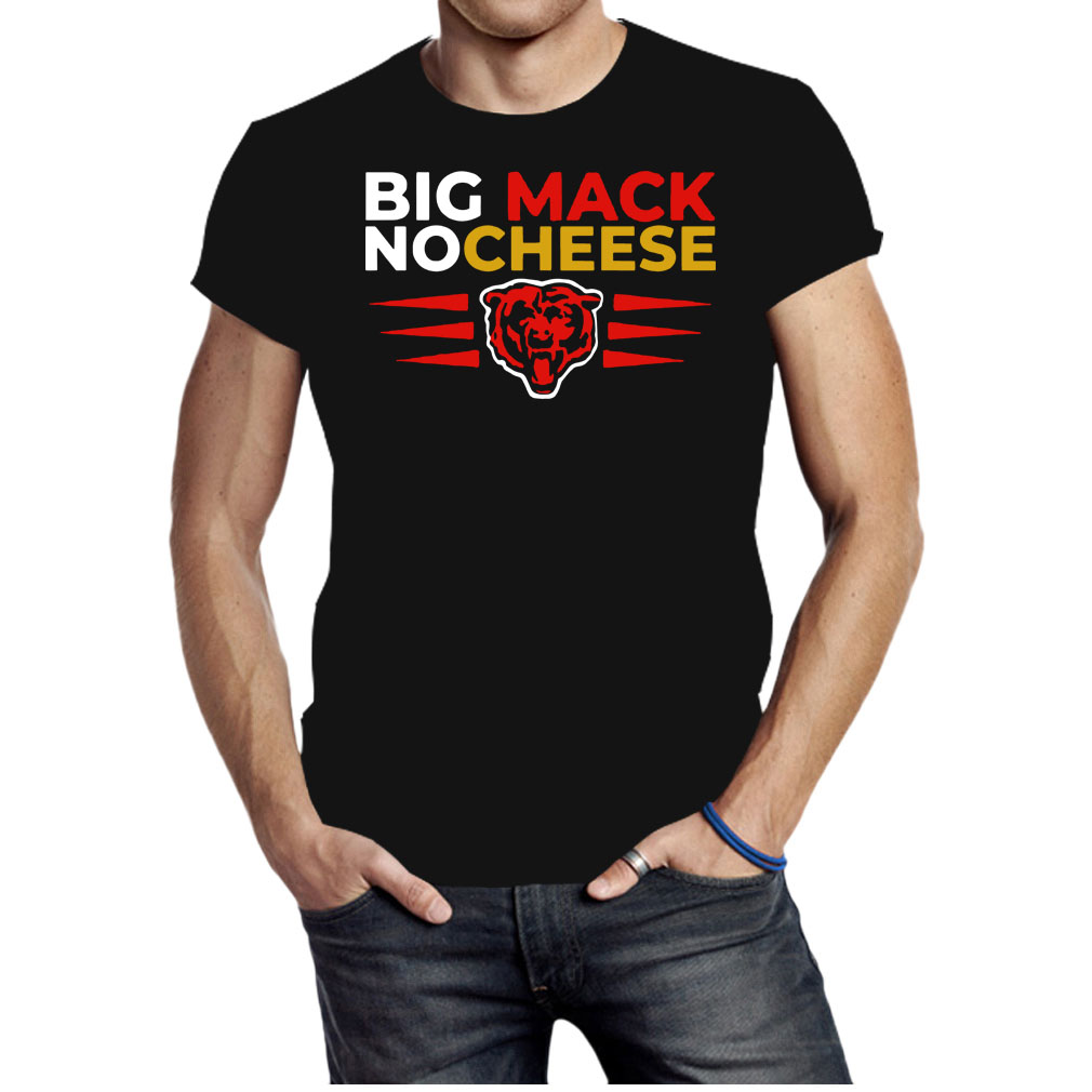 Chicago bears Big Mac No Cheese shirt