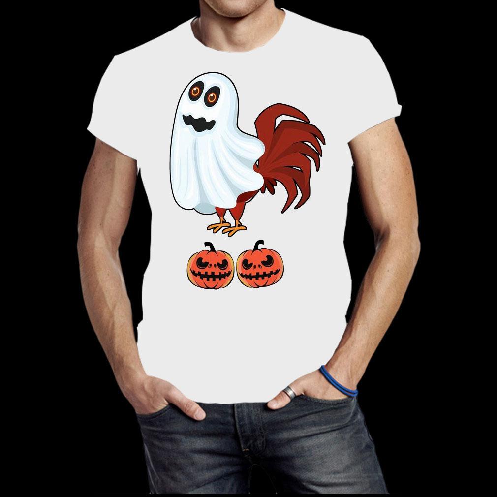 Chicken Boo Halloween shirt
