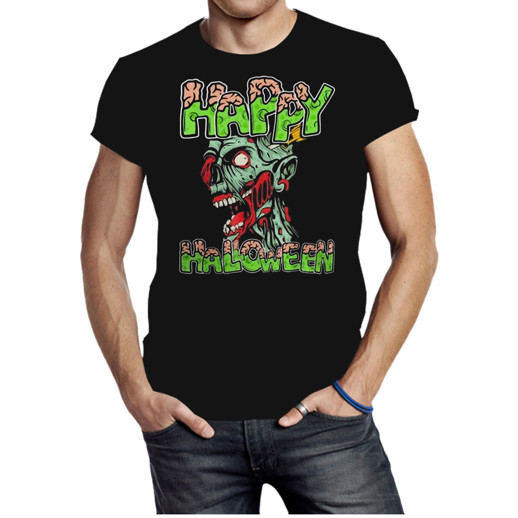 Happy Halloween Zombie cartoon shirt