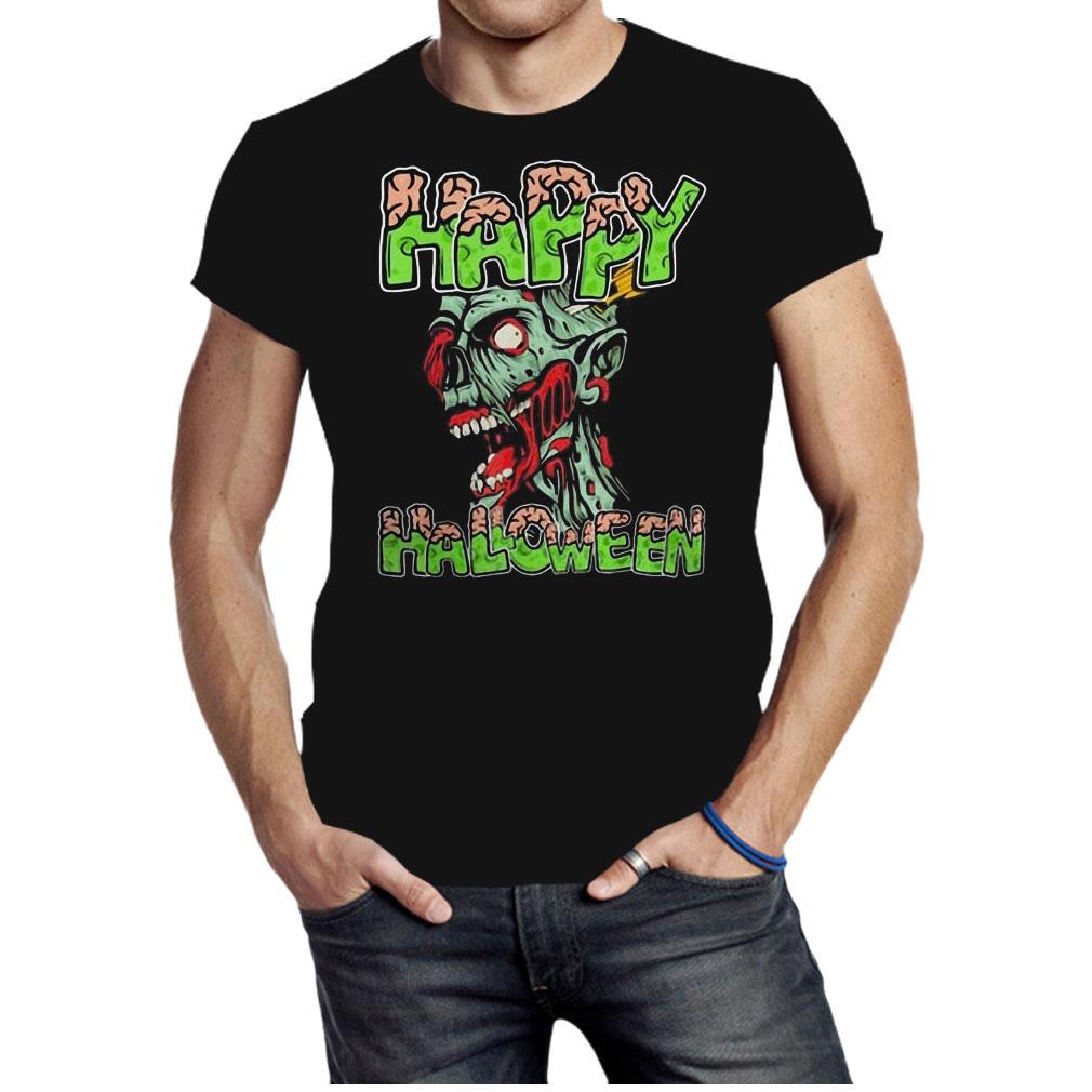 Happy Halloween Zombie cartoon shirt