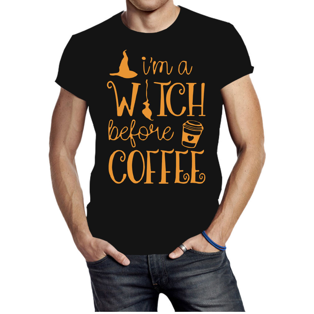 I'm a witch before coffee Halloween shirt