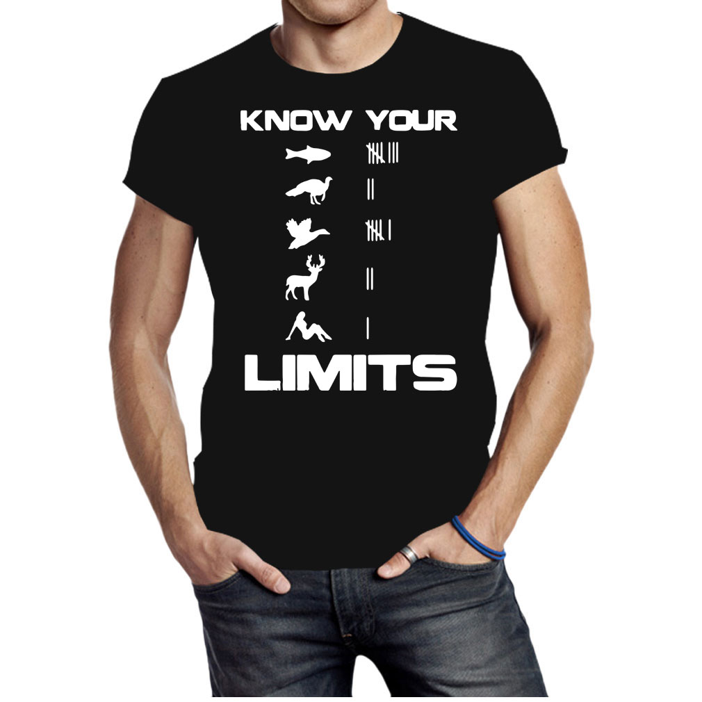 Know your limits shirt