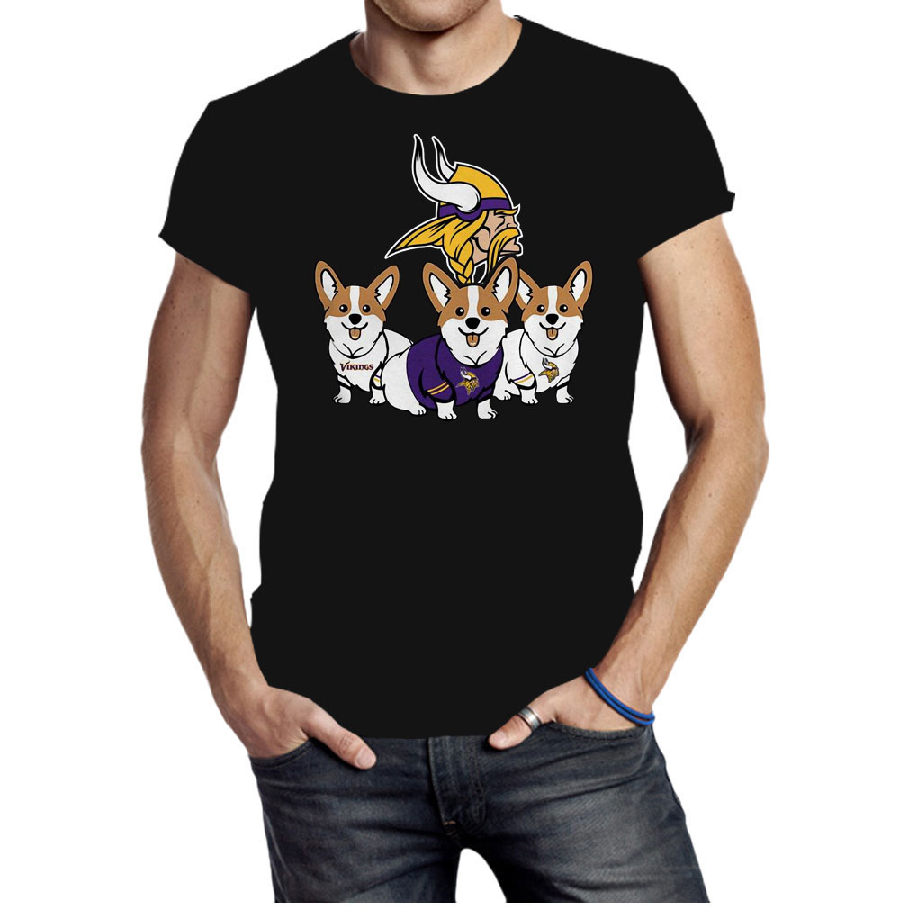 Pembroke Welsh Corgi Minnesota Vikings shirt