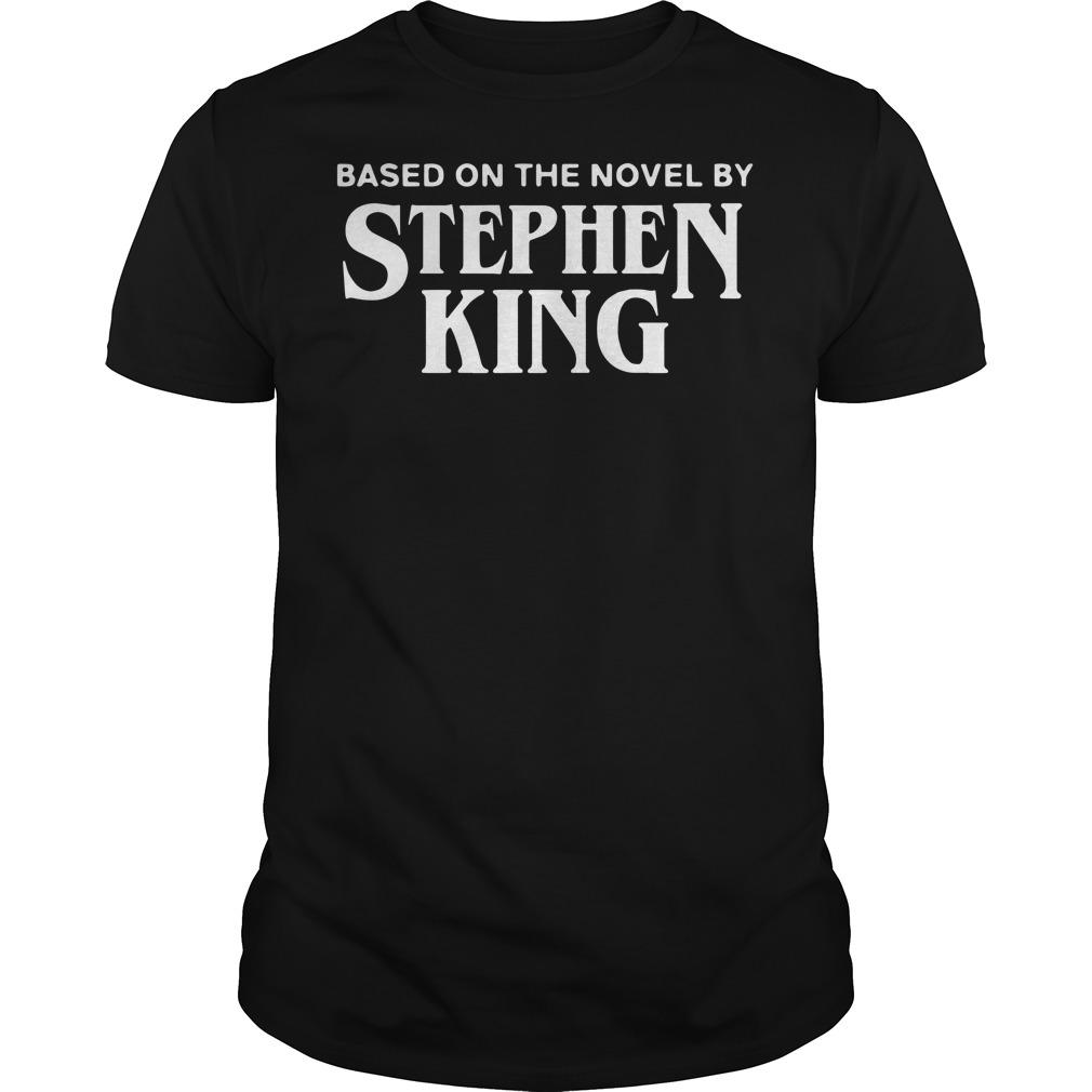 Based on the novel by Stephen king Guys t-shirt