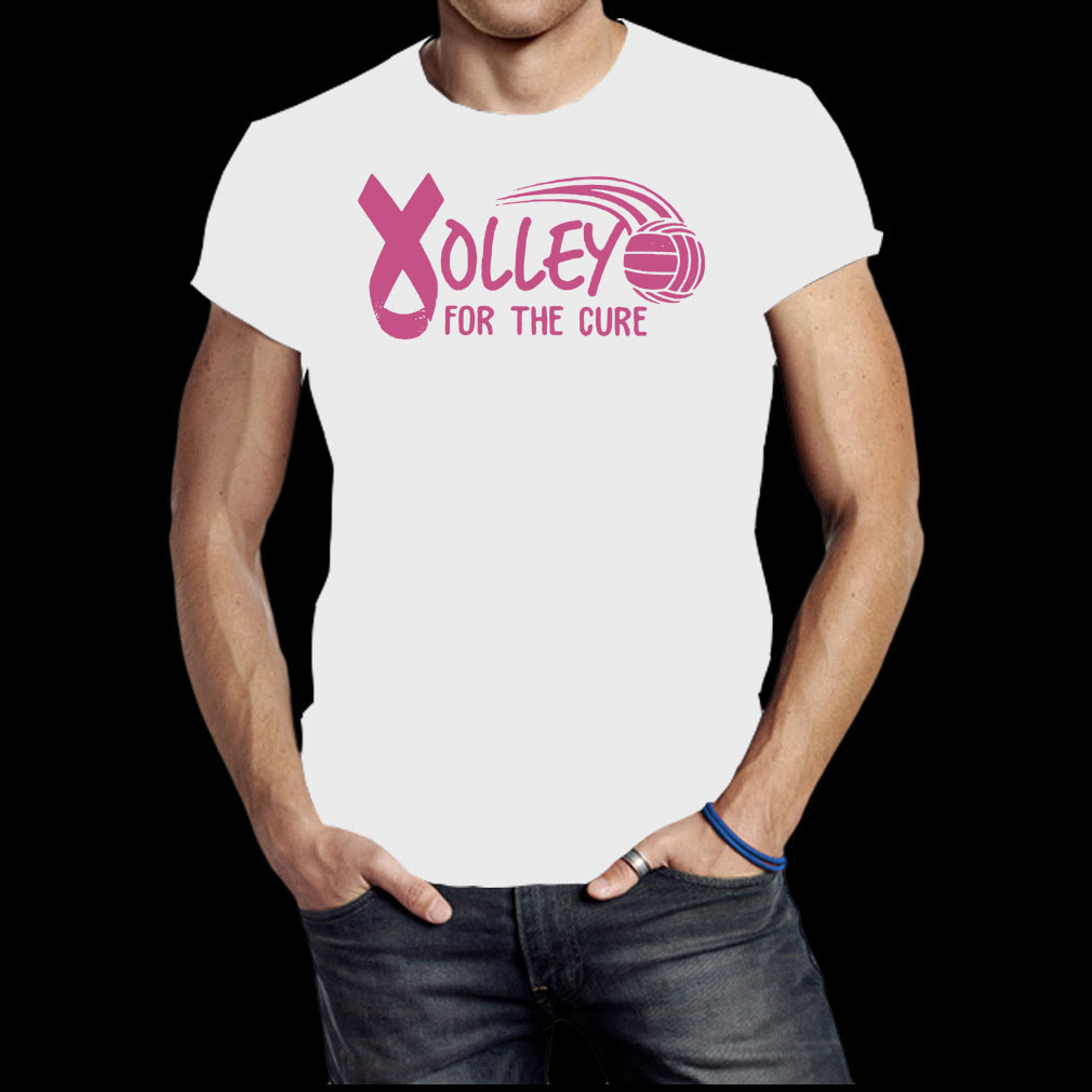 Breast Cancer Awareness Volleyball for the cure shirt