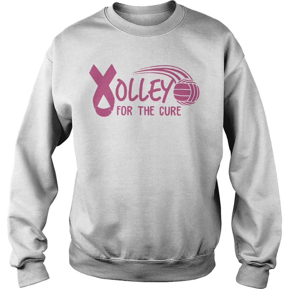 Breast Cancer Awareness Volleyball for the cure Sweater