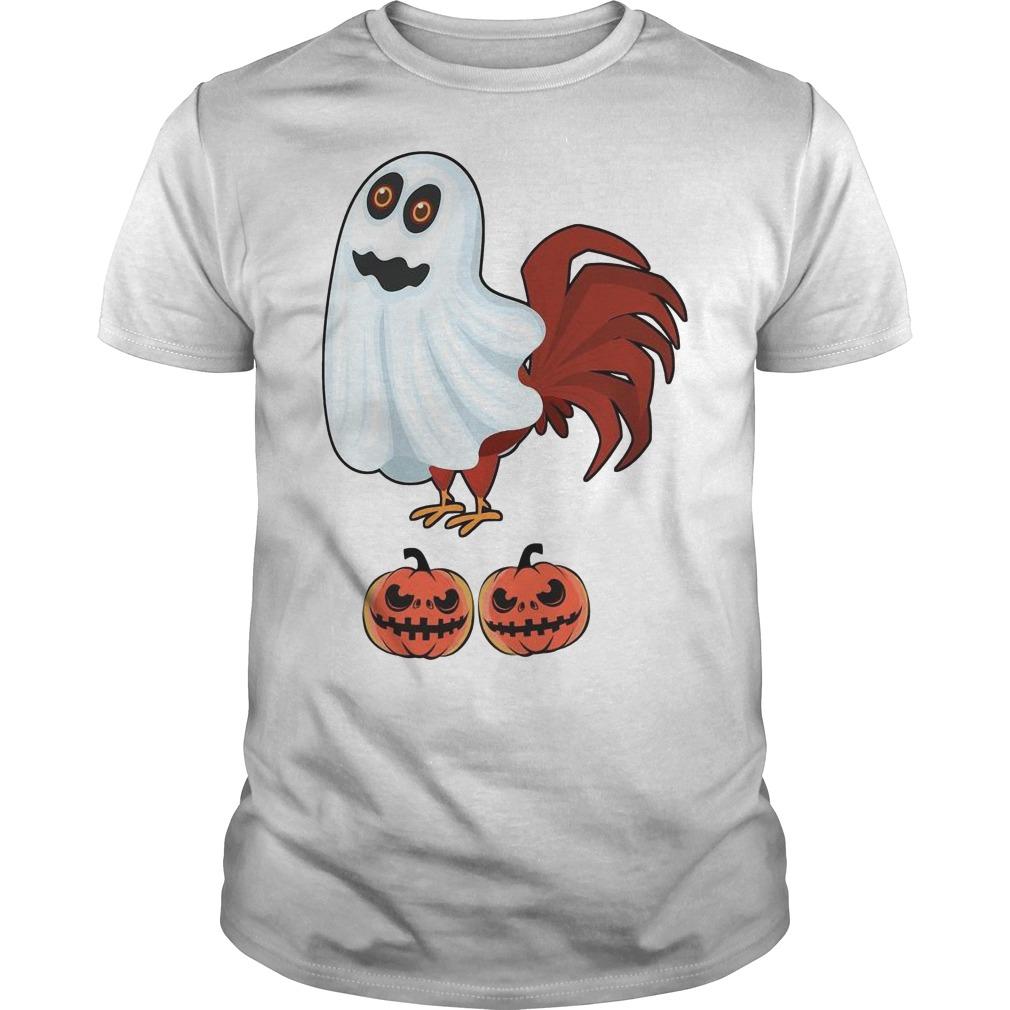 Chicken Boo Halloween Guys t-shirt