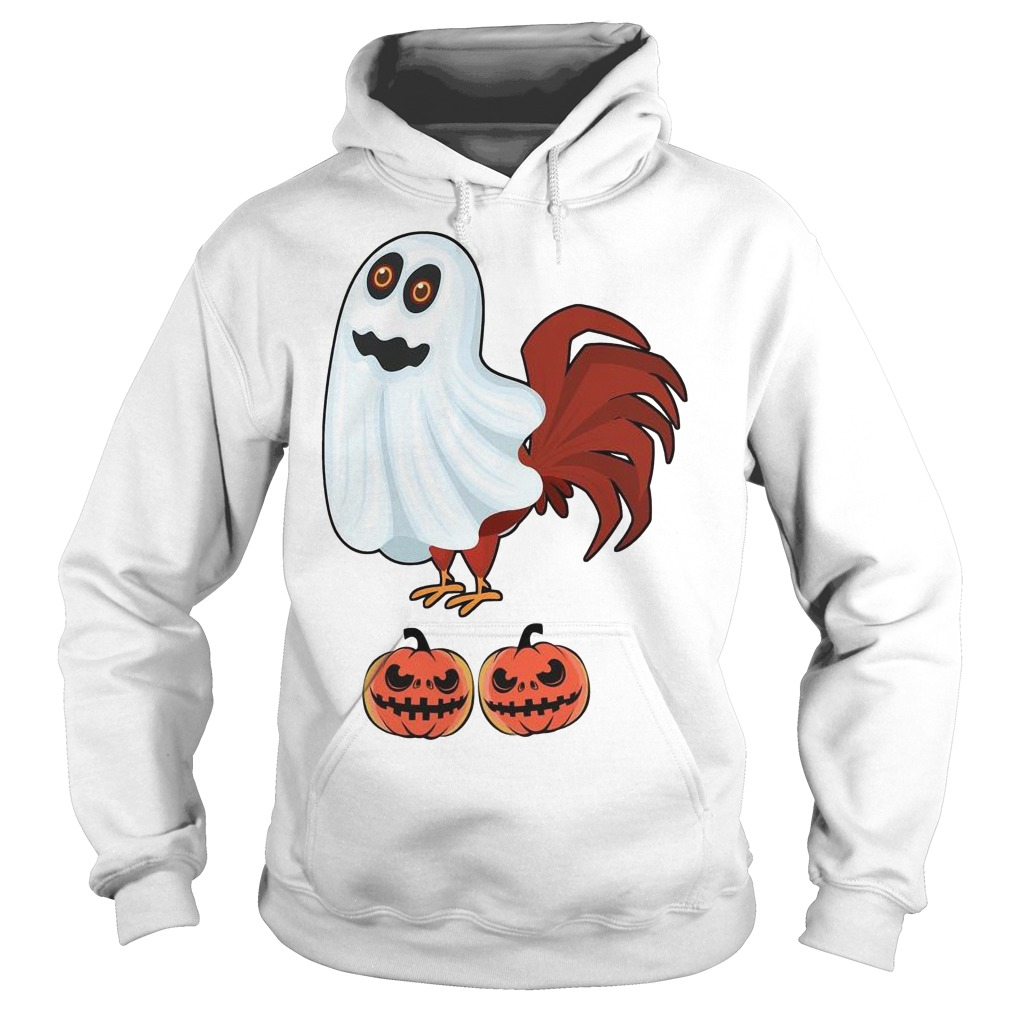 Chicken Boo Halloween Hoodie