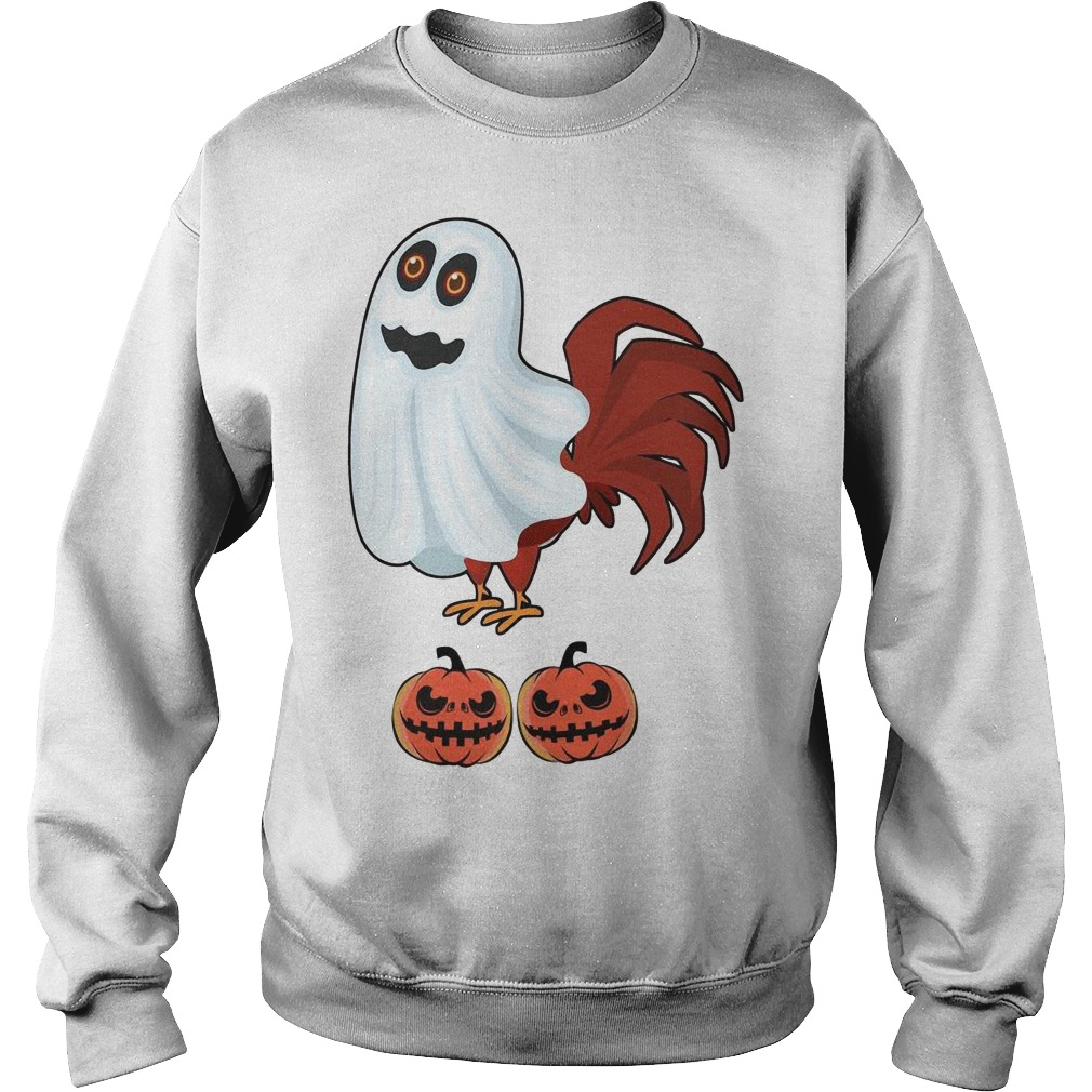 Chicken Boo Halloween Sweater