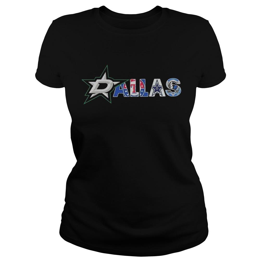 Dallas football Ladies t-shirt