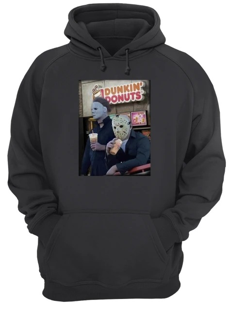 Dunkin Donuts horror Hoodie