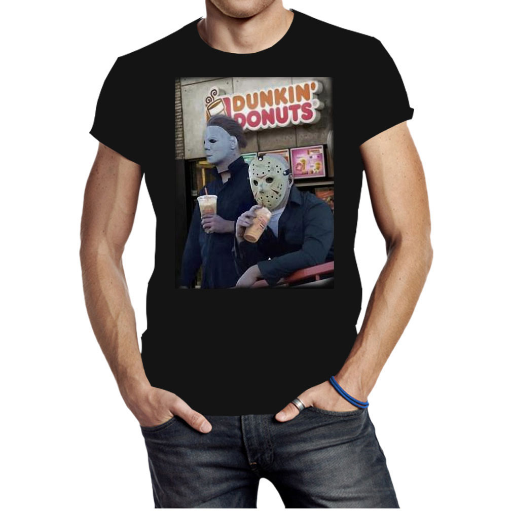 Dunkin Donuts horror shirt
