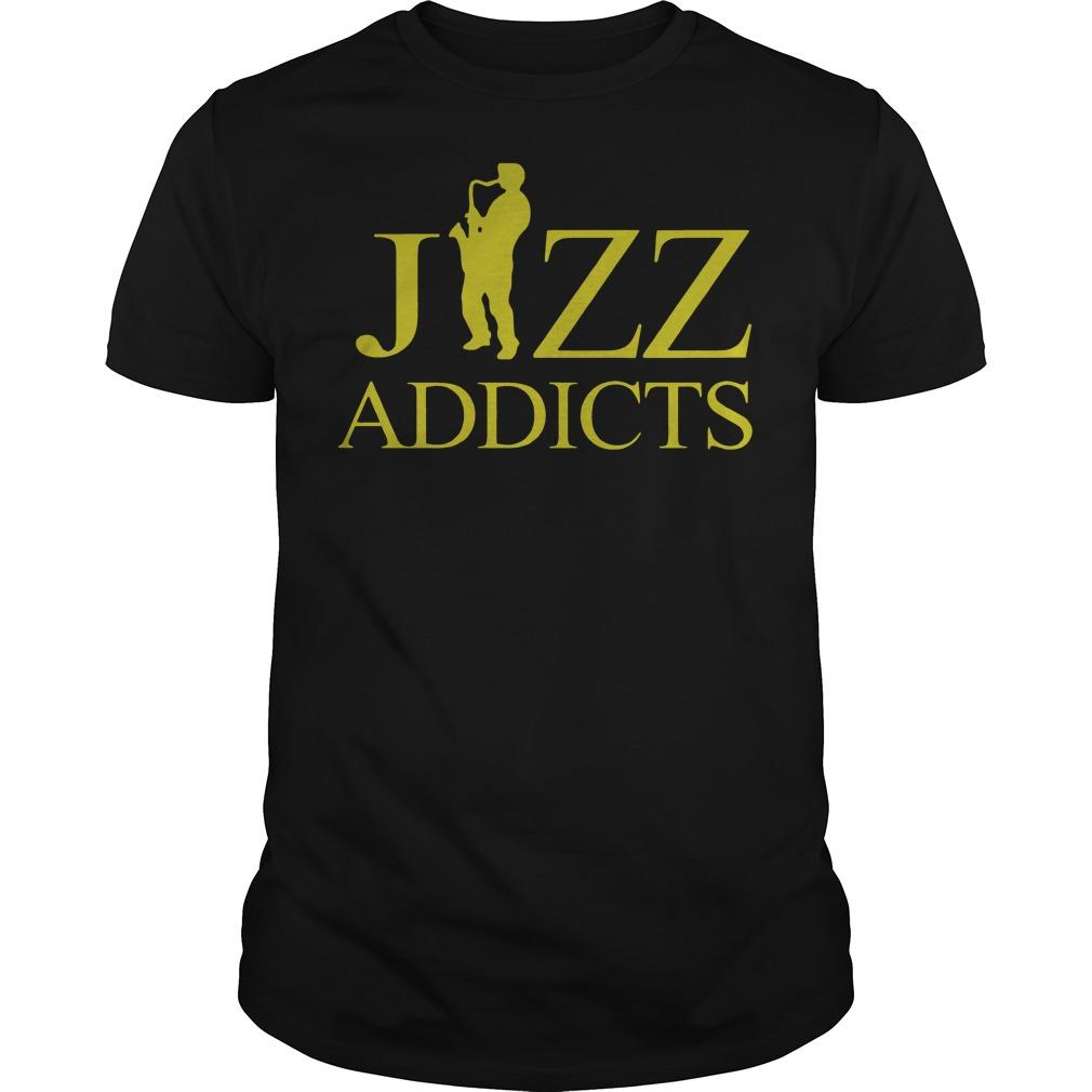 Jazz Addicts Guys t-shirt