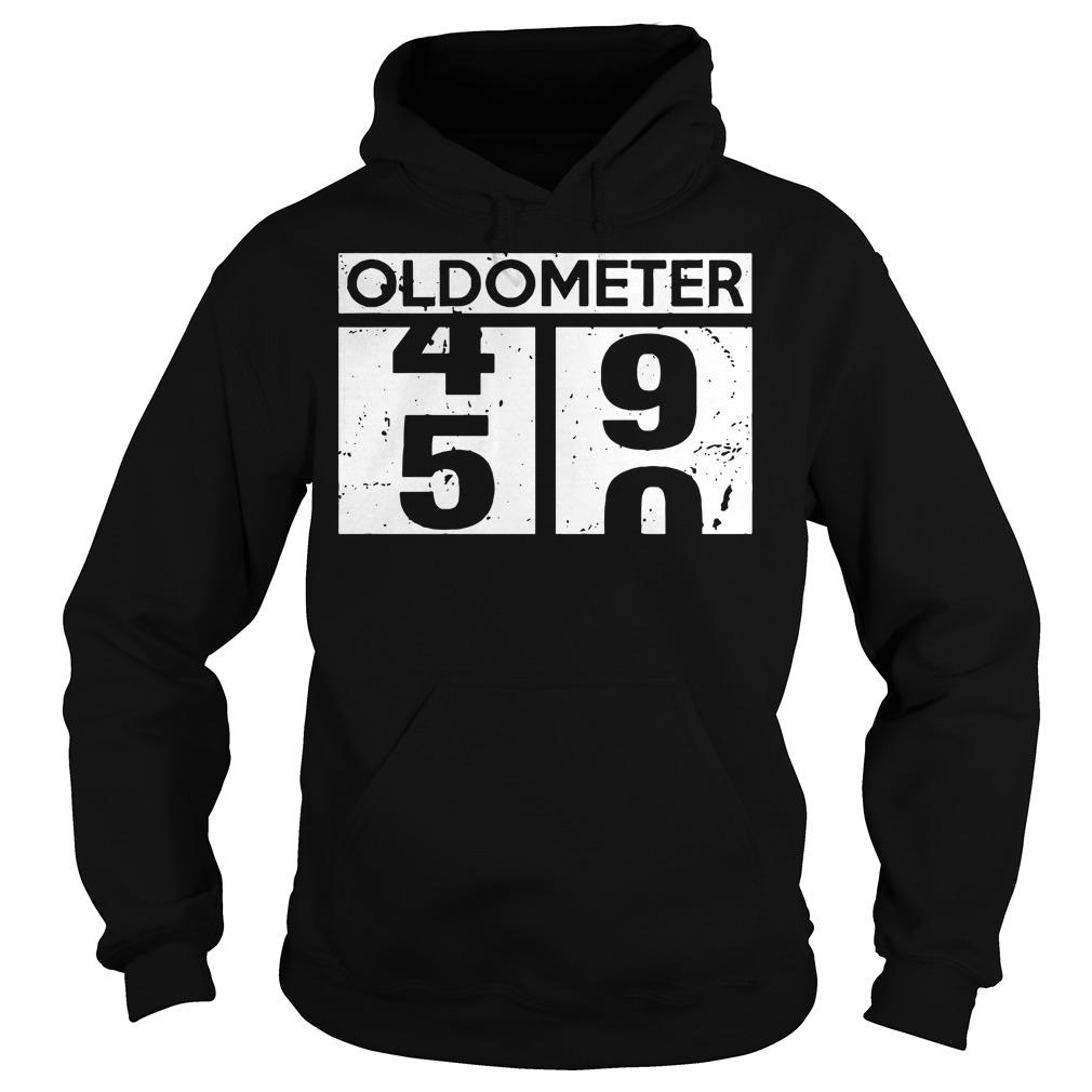 Oldometer 50th birthday counting Hoodie