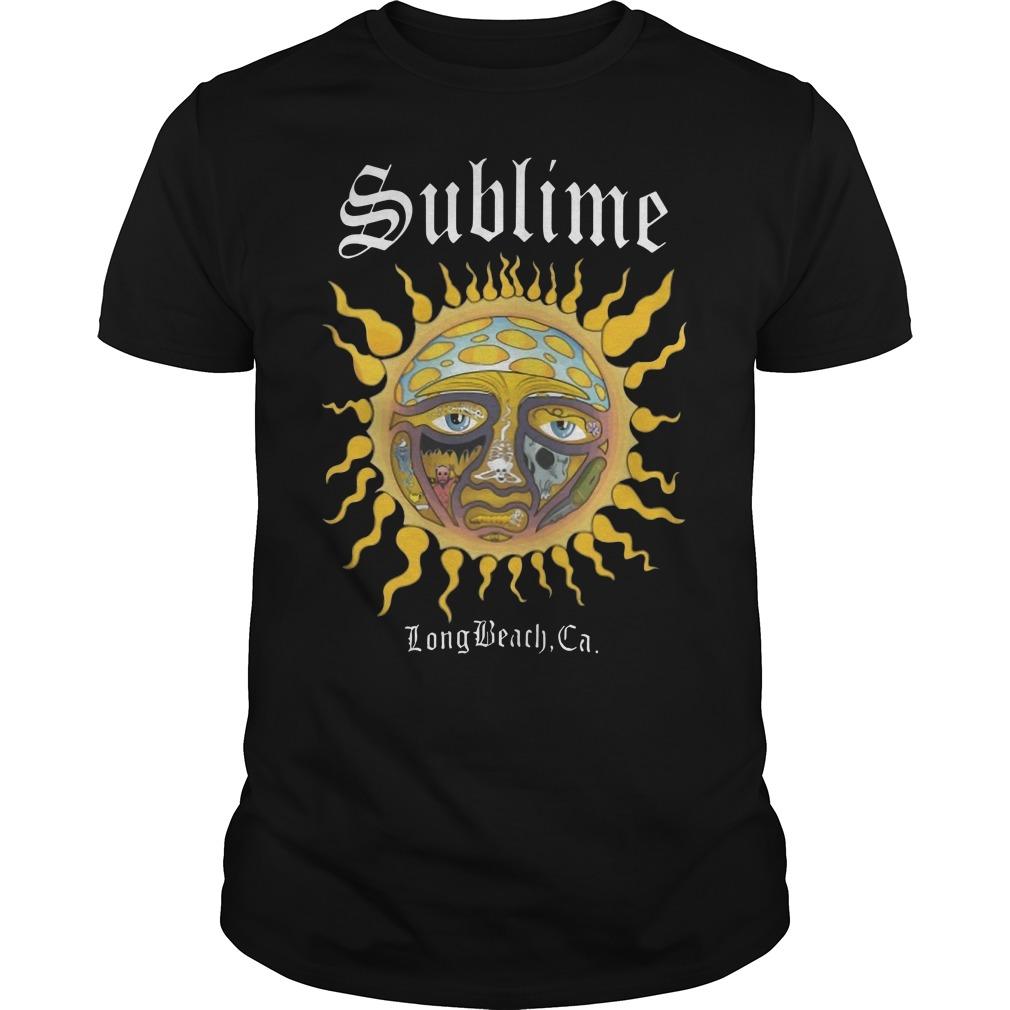 Sublime Long Beach CA Guys t-shirt
