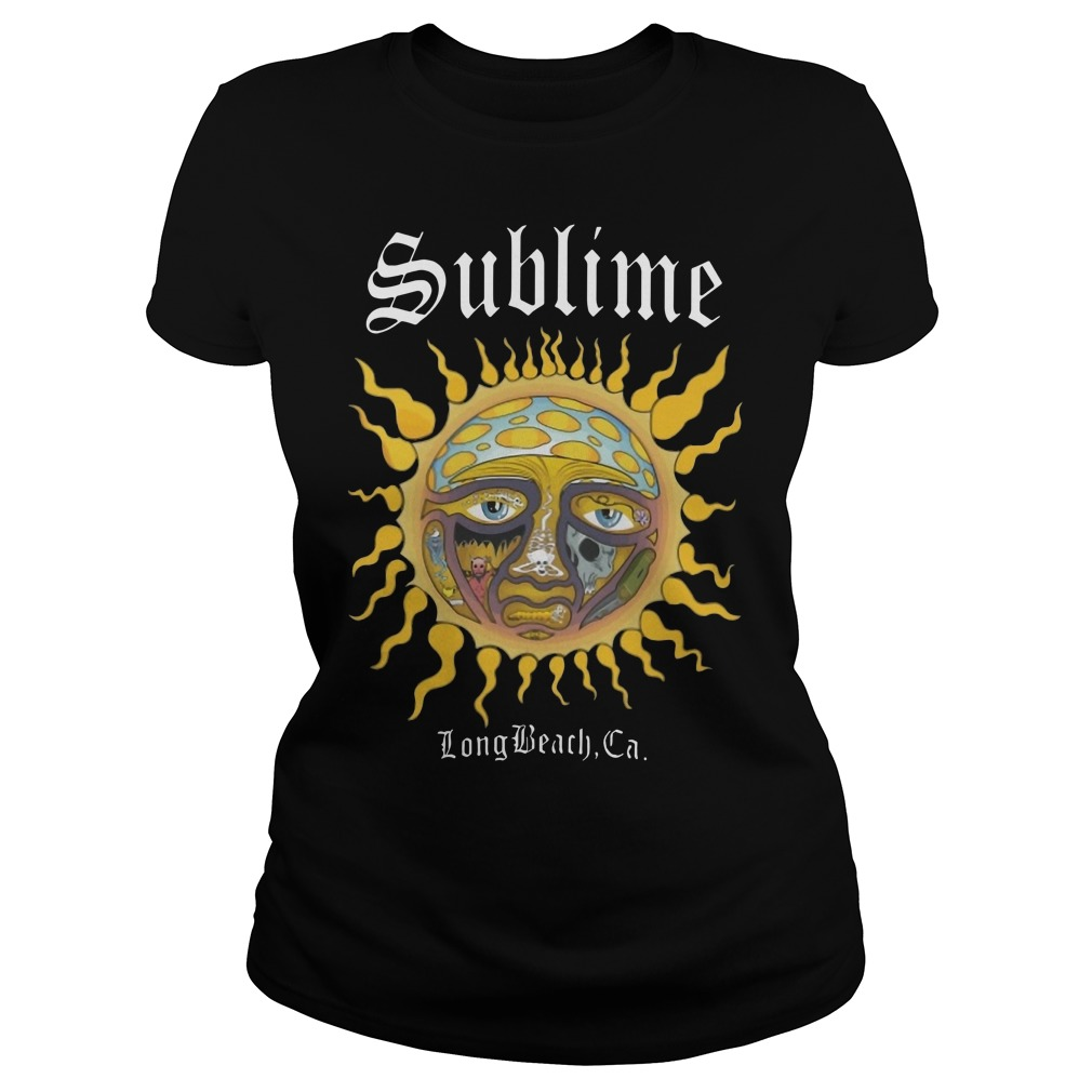 Sublime Long Beach CA Ladies t-shirt