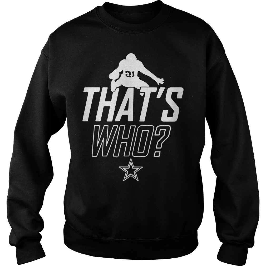 Zeke who that's who Ezekiel Elliott Sweater
