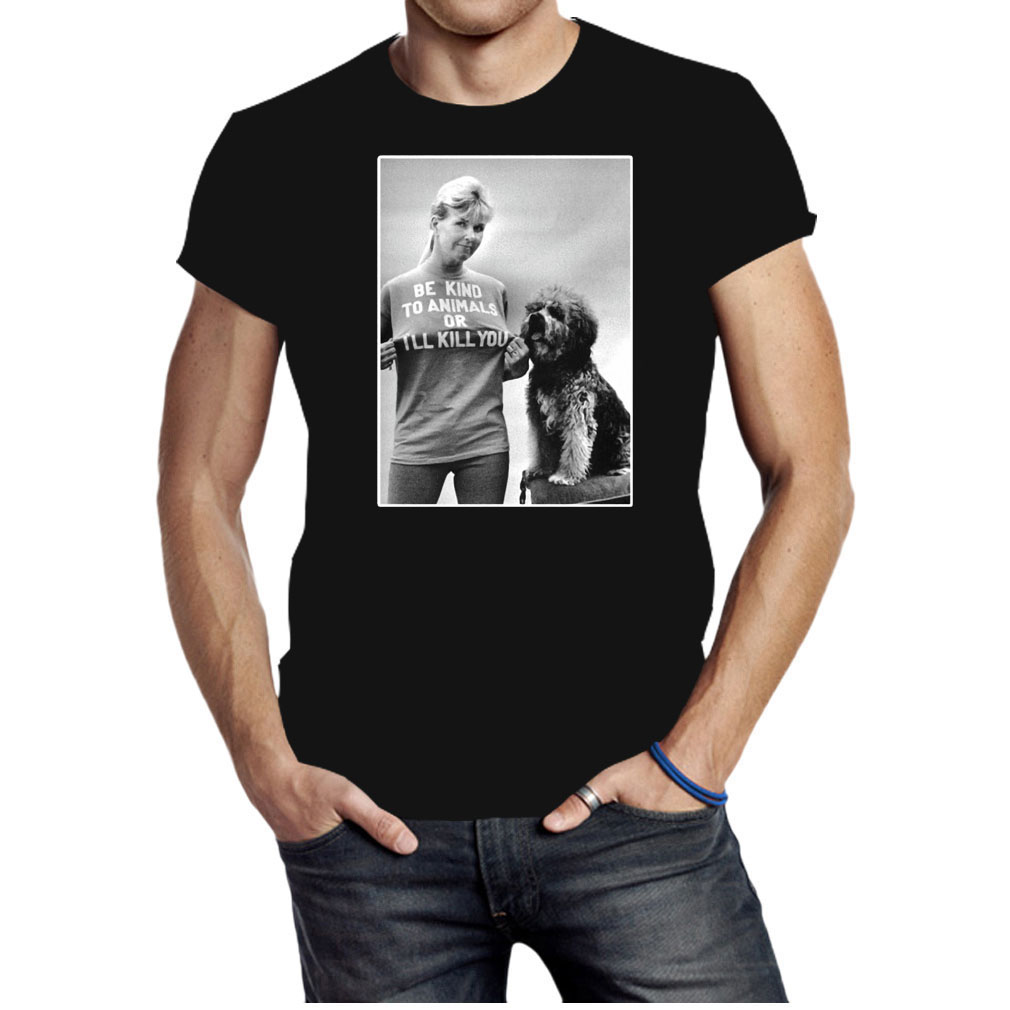 Be kind to animals or I'll kill you Doris Day shirt