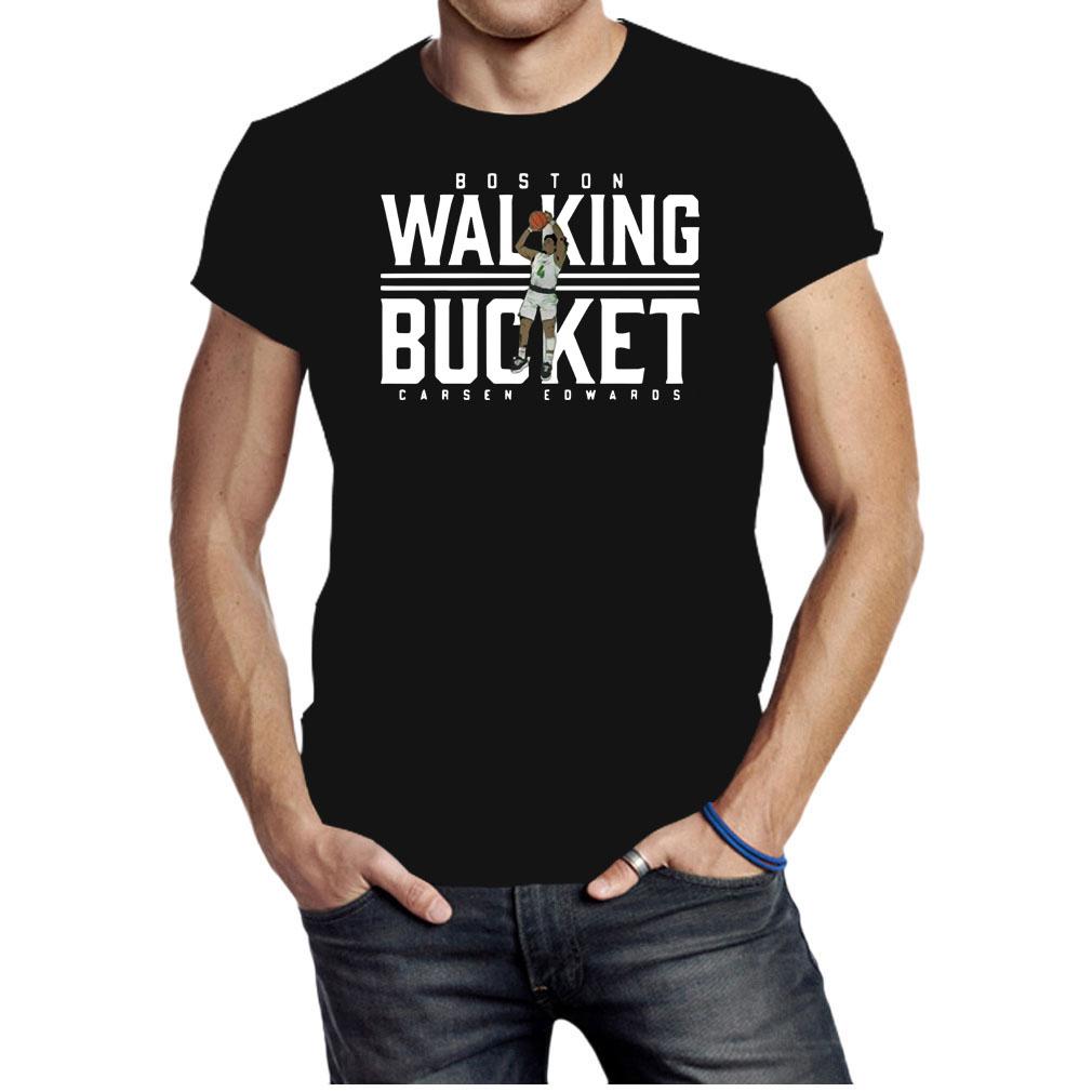 Boston Walking Bucket Carsen Edwards shirt